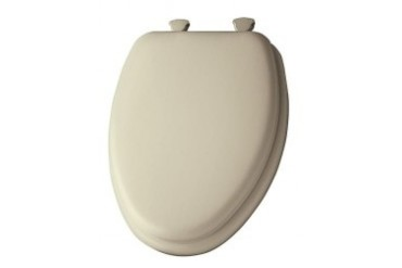 Mayfair 113Ec-006 Seat Wd Prem Elong Bone Elongated Soft Toilet Seat