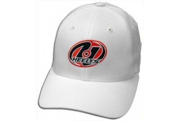 Youth Size Heelys Fitted Baseball Hats (White)