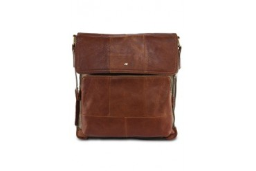 RAV Design Casual Leatherette Panel Sling Bag