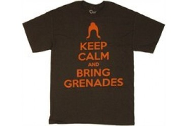 Firefly Keep Calm and Bring Grenades Jayne T-Shirt