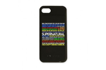 Supernatural TV Show Supernaturaltv iPhone Charger Case by CafePress