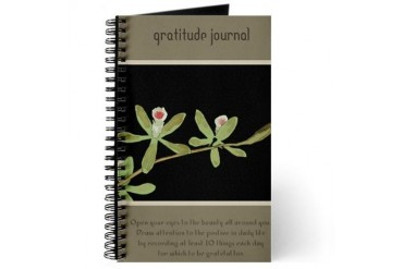 Gratitude Beauty Journal by CafePress