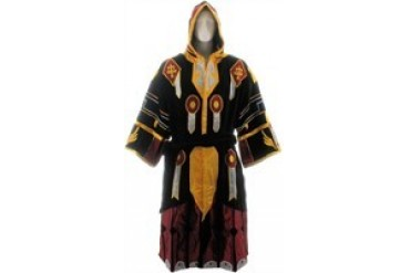 World of Warcraft Paladin Tier 2 Judgement Armor Hooded Terrycloth Robe
