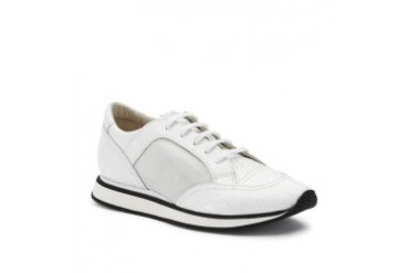 Track Star Pebbled-Leather Sneaker