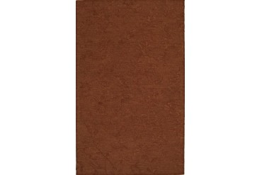 Dalyn Tones Contemporary Brown Floral Vines Leaves Subtle Area Rug