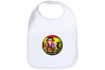 Spain Soccer Sports Bib by CafePress