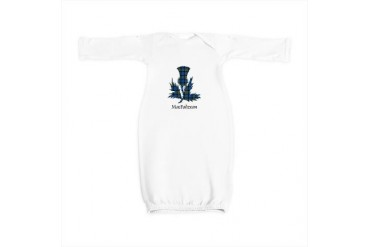 Thistle - MacFadzean Scottish Baby Gown by CafePress