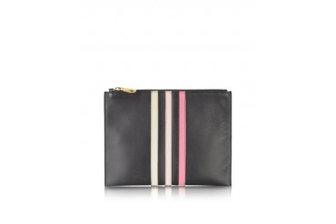 Lucien Small Leather Zipped Pouch