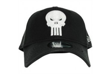 Marvel Comics Punisher Skull Logo Embroidered 39THIRTY Hat