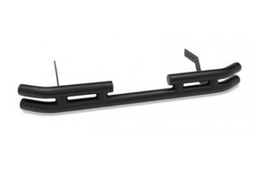 Warrior Tube Bumper with Receiver in Black Powder Coat 53250 Rear Bumpers