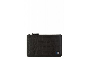 Ami Alexandre Mattiussi Black Croc embossed Ipad Mini Case