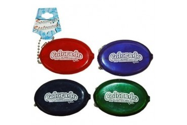 Ddi Colorado Keychain Coin Purse 2 X 3 Bubble 4 Asso (pack Of 96)