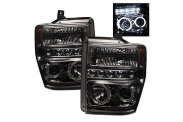 Spyder Auto Group Halo LED Projector Headlights 5010599 Headlight Replacement