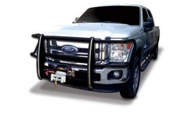 Go Rhino Winch Bumper Grille Guard with Brush Guard for Ford 23370MB Grille Guards