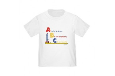 A is for Asimov Toddler T-Shirt
