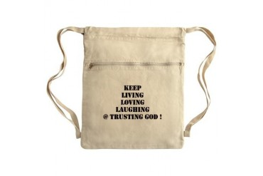Sack Pack Love Cinch Sack by CafePress