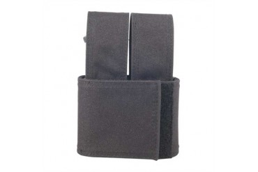 Injected Molded Double Mag Pouches - Injected Molded Double Mag Pouch Black Glock 17/22