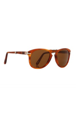 61061e1ab7 PO0714 54 Crystal Suprema Foldable Sunglasses in 96 33 Light Havana -  designed by Persol