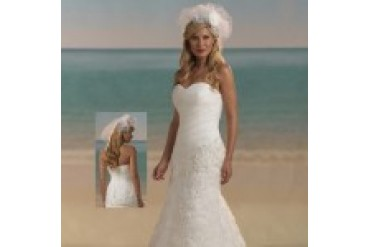 "Forever Yours ""In Stock"" Informal Wedding Dress - Style 3961"