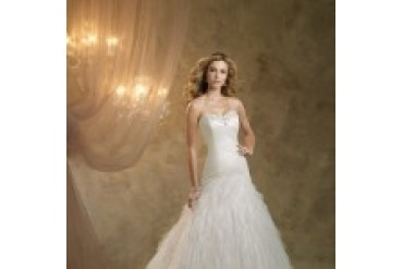 "Kathy Ireland ""In Stock"" Wedding Dress - Style French Riviera KI1300"