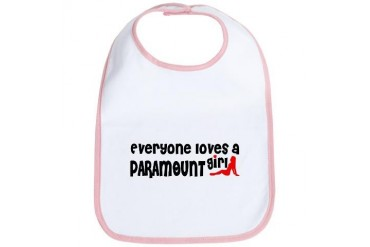 Everyone loves a Paramount Girl California Bib by CafePress