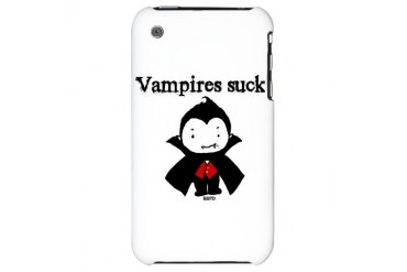 Vampires Suck Funny iPhone 3G Hard Case by CafePress