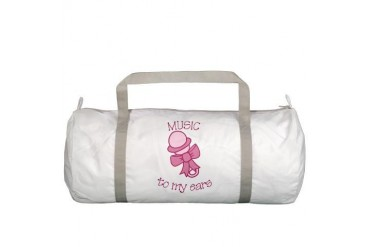 Music To My Ears Baby Gym Bag by CafePress