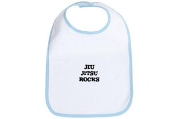 JIU JITSU ROCKS Sports Bib by CafePress