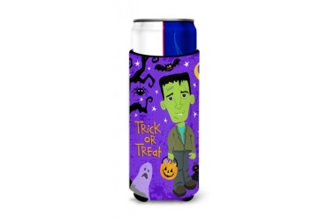 Halloween Frankie Frankenstein Michelob Ultra Hugger for slim cans