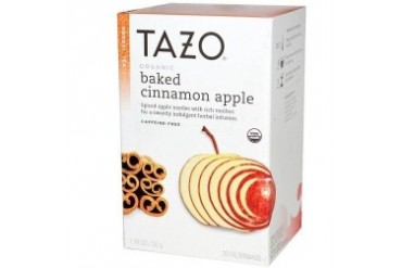 Tazo Tea Organic Baked Cinnamon Apple 20 bags
