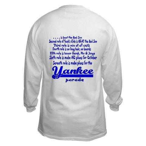 60c86f9422 Yankees Fight Club Funny Long Sleeve T-Shirt by CafePress - Price ...