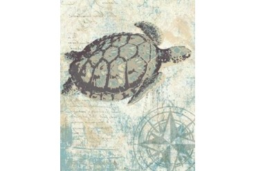 SEA TURTLES I Poster Print by Piper Ballantyne (22 x 28)