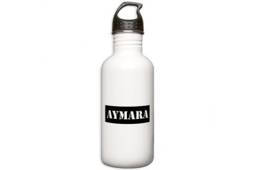 Aymara Indian Stainless Water Bottle 1.0L by CafePress