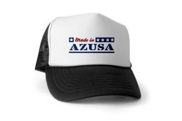 Made in Azusa California Trucker Hat by CafePress