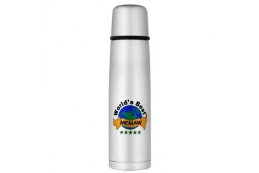 Large Thermos Bottle Family Large Thermosreg; Bottle by CafePress