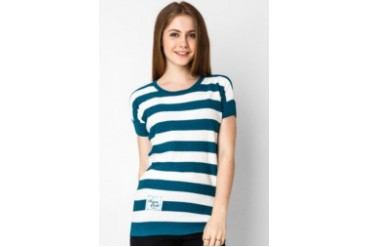 Heath S/S Stripe Flatknit