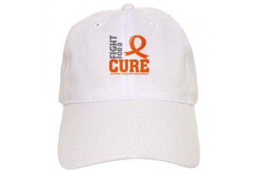 Leukemia Fight For A Cure Cancer Cap by CafePress