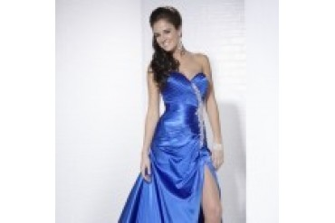 "Tiffany ""In Stock"" Royal Prom Dress - Style 16650"