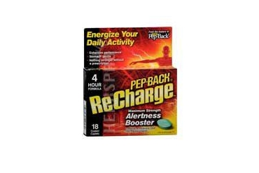 Ultra Pep-Back Recharge Alertness Booster Maximum Strength 18 tabs