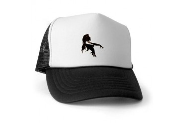La Gitana Negra Art Trucker Hat by CafePress