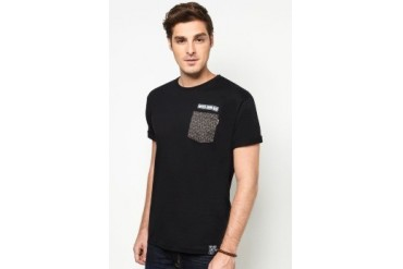 NEVER GROW OLD Animal Pocket Tee
