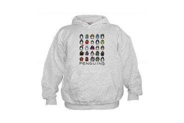Lots of Penguins Kids Hoodie