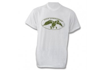 Duck Commander T-Shirt - White - M