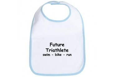 Future Triathlete Sports Bib by CafePress