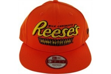 Hershey's Reese's Peanut Butter Cups 9Fifty Embroidered Snap Closure Hat