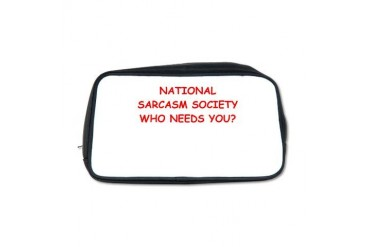 SARCASM Funny Toiletry Bag by CafePress