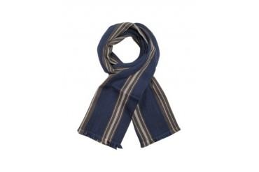 Club - Striped Wool Scarf