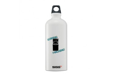 Scoring Machine Funny Sigg Water Bottle 0.6L by CafePress