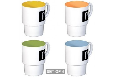 Liaison Regiment Army Stackable Mug Set 4 mugs by CafePress