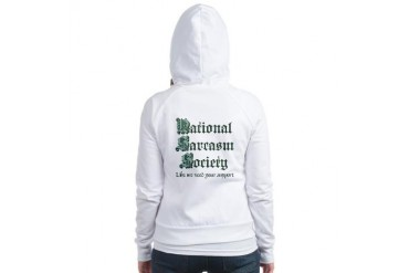 National Sarcasm Society Funny Jr. Hoodie by CafePress